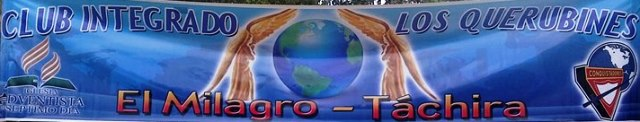 banner Club Integrado Los Querubines